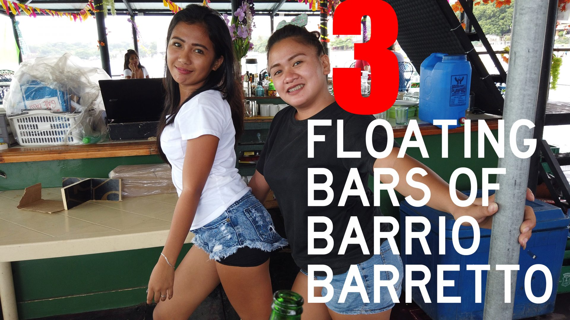 Floating Bars of Barrio Barretto - Olongapo, Zambales, Philippines