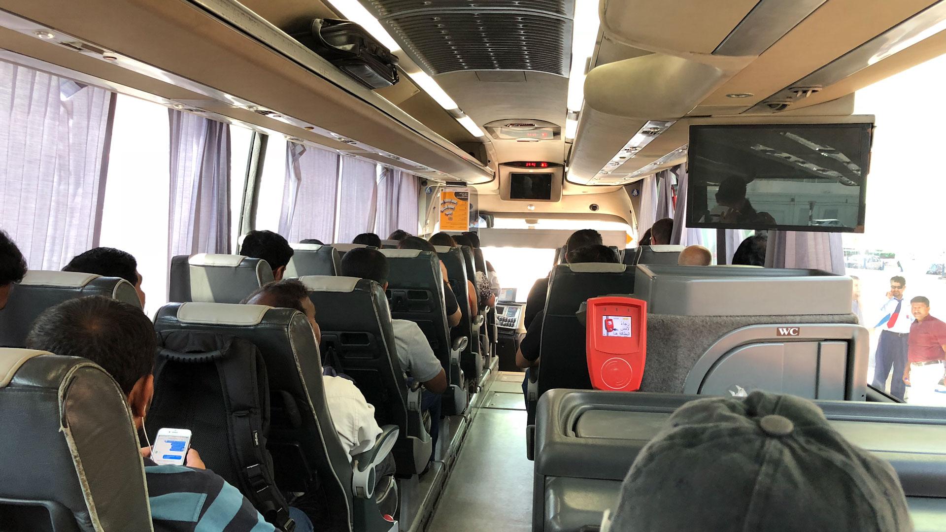Abu Dhabi to Dubai - Bus