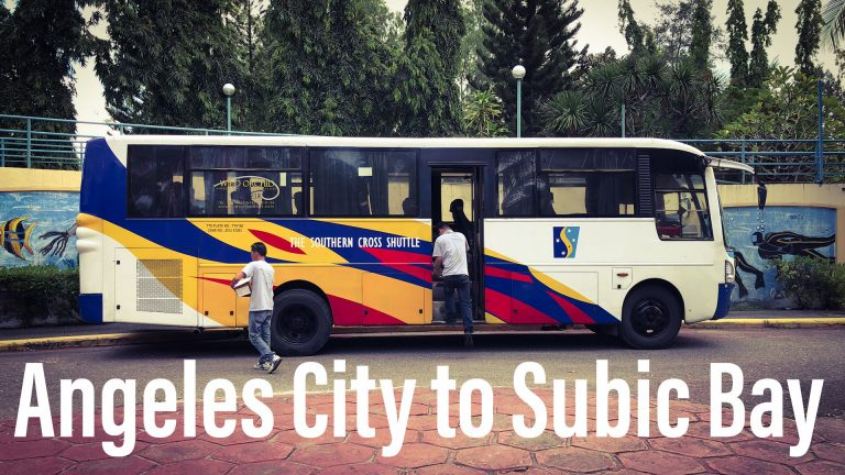 How to Get to Subic Bay from Angeles City, Philippines