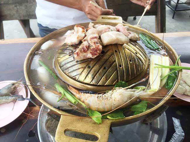 Barbecue Buffet Seafood Near Suvarnabhumi Airport Bangkok Thailand
