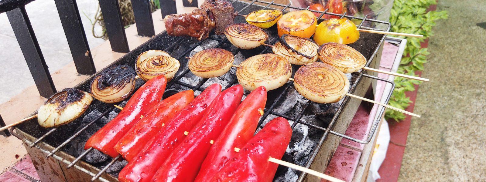 Barbecue Chicken and Pork