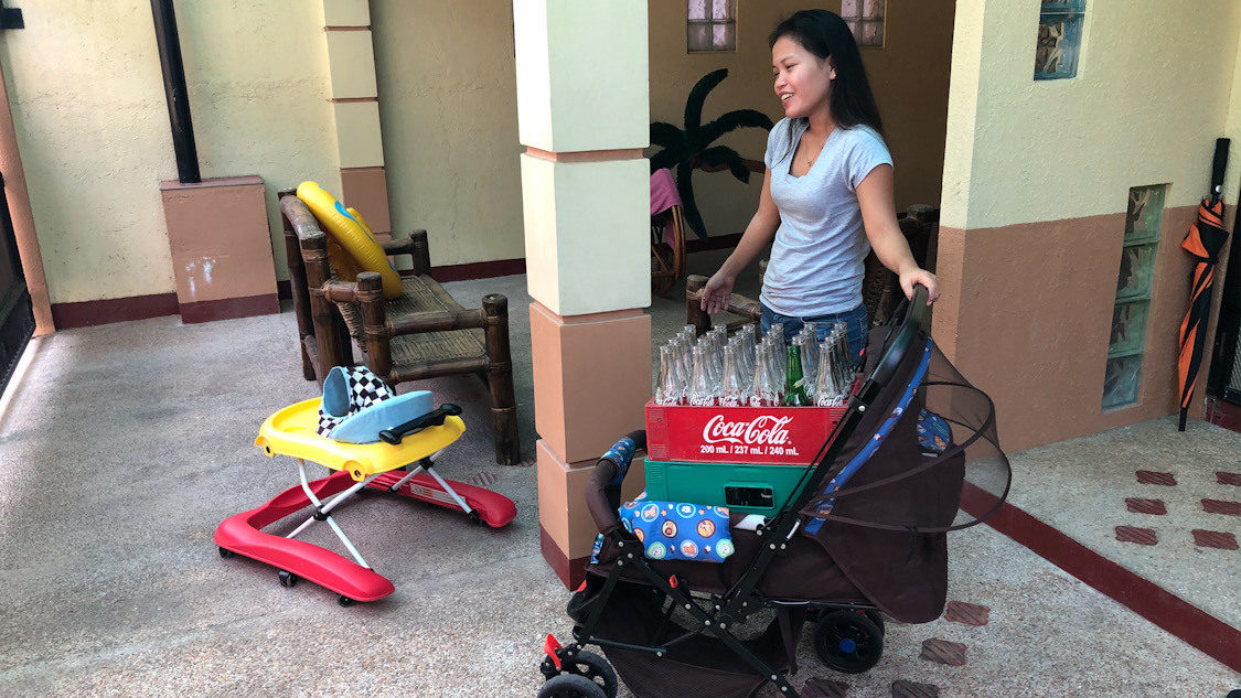 Beer Run in the Stroller