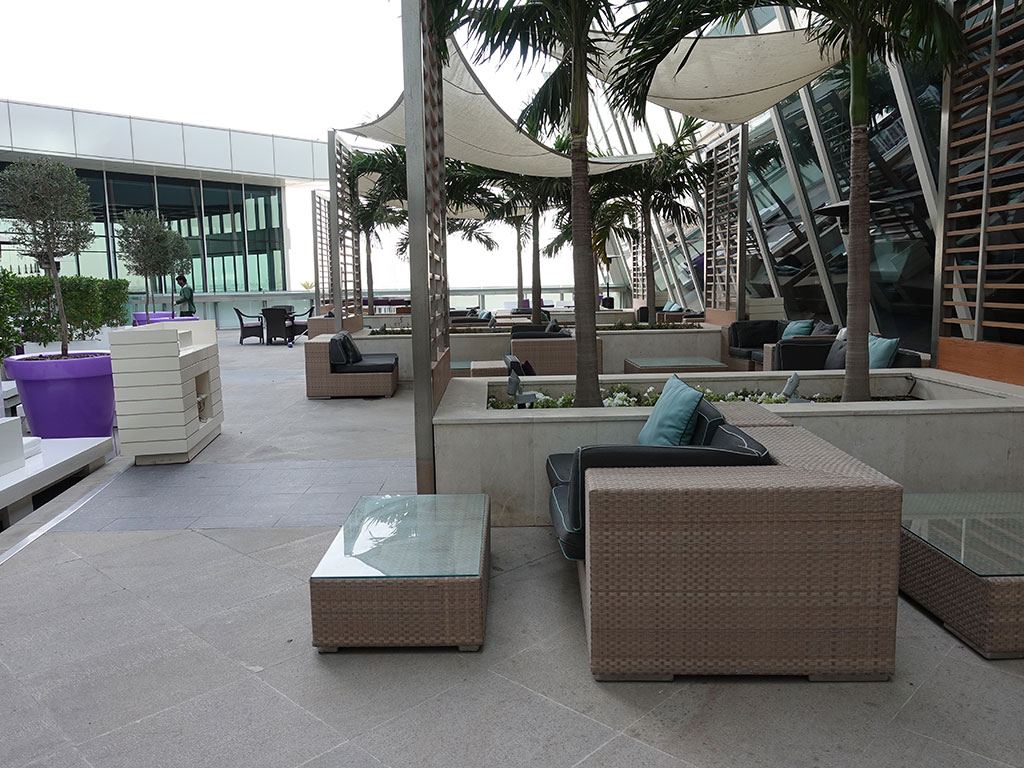 Best Hotel in Dubai Intercontinental Dubai Festival City Review Outside Patio Sony RX100 V