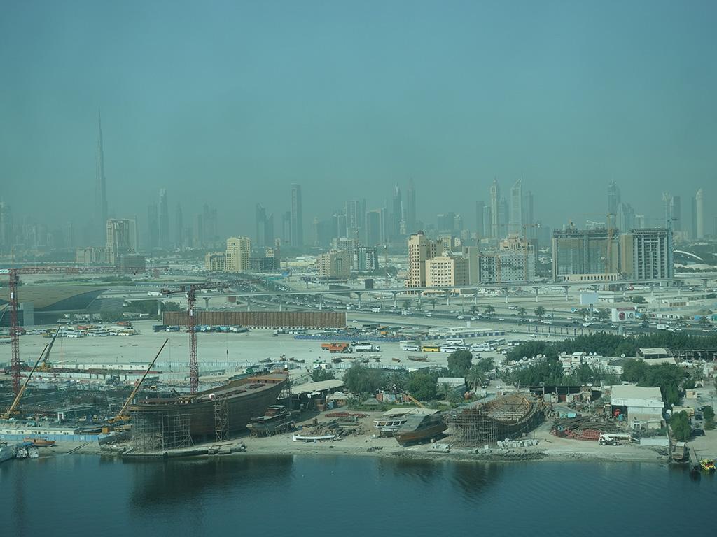 Best Hotel in Dubai Intercontinental Dubai Festival City Review View From Room Burj Khalifa