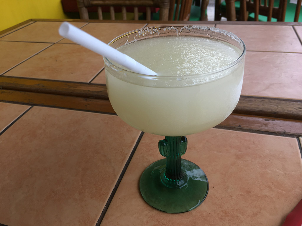 Best Place to Eat in Angeles City Philippines Tequila Reef Cantina Bar and Restaurant - Frozen Margarita