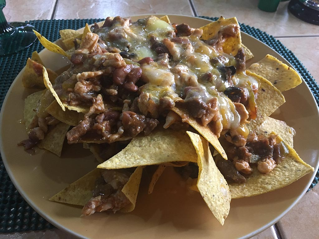 Best Place to Eat in Angeles City Philippines Tequila Reef Cantina Bar and Restaurant - Nachos