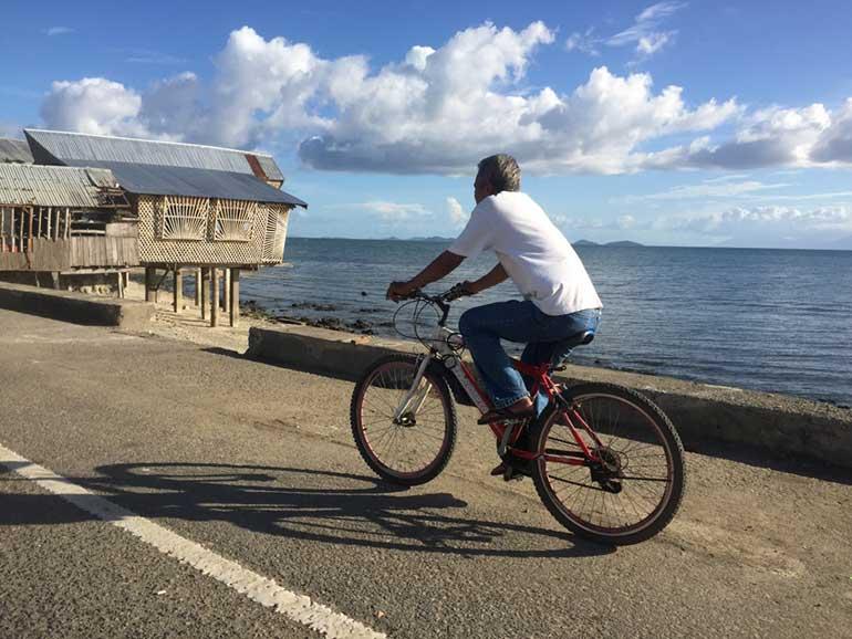 Calbayog, Philippines - Western Samar - Riding Bicycle