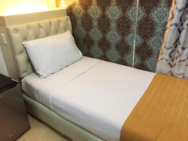 Cebu City to Manila Philippines Ferry State Room Single Bed