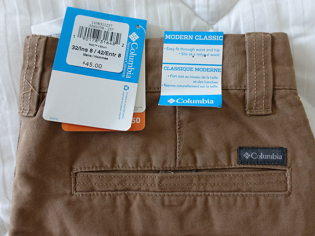 Columbia Roc II Shorts Delta 8 Inch Review Best Travel Clothing