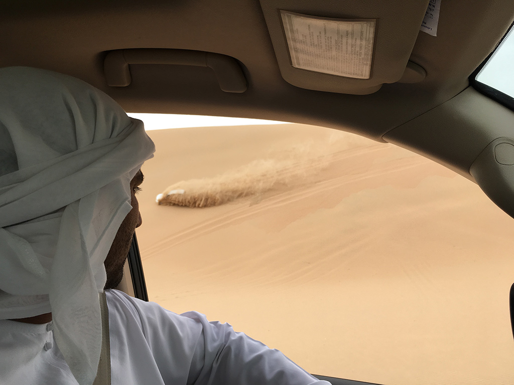 Desert Safari Tour Abu Dhabi Dubai UAE Dune Bashing Toyota Land Cruiser