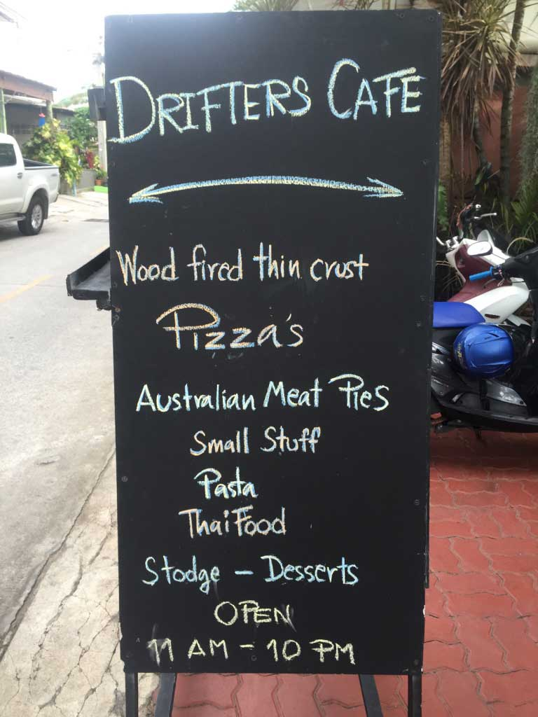 Drifters Cafe - Pattaya, Thailand - Wood-Fired Pizza