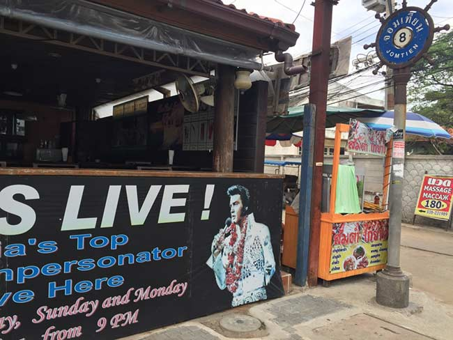 Elvis Show Jomtien Beach Thailand Boathouse Restaurant Soi 8