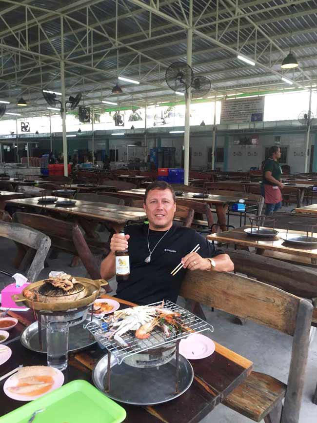 Great Barbecue Buffet Near Suvarnabhumi Airport Bangkok Thailand