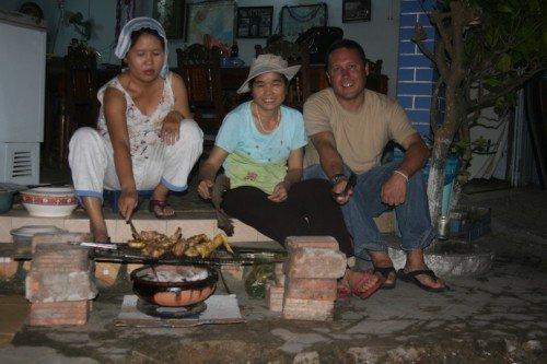 Hoas Place - Christmas in Da Nang Vietnam - 2010