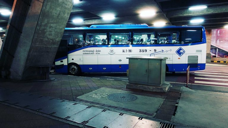 How to Get to Pattaya from Suvarnabhumi Airport for 120 Baht on the Bus - Thailand