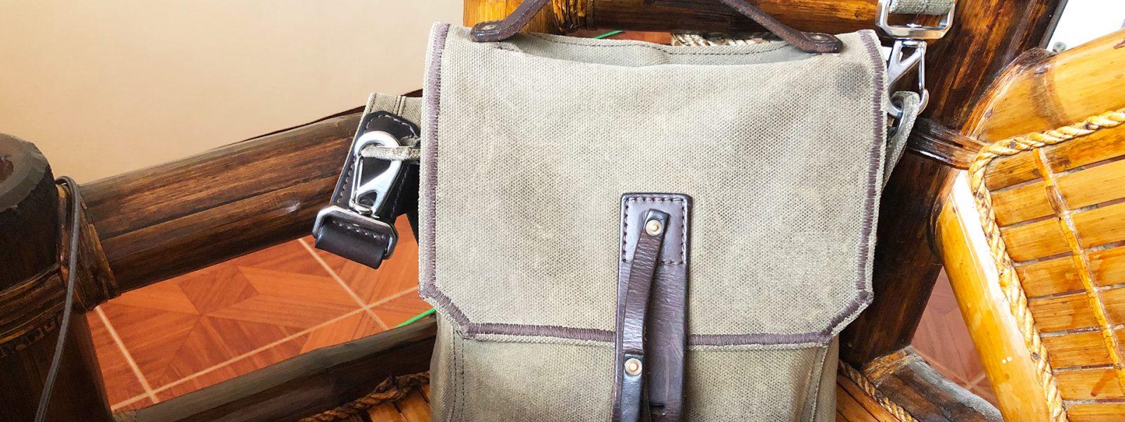 Indiana Weatherproof Satchel Gear Bag Saddleback Leather