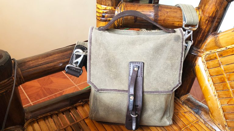 Indiana Weatherproof Satchel Gear Bag Saddleback Leather