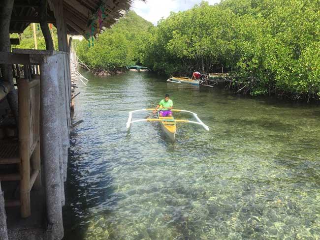 Lamanoc Island Anda Bohol Philippines Boat Ride