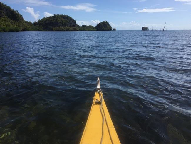 Lamanoc Island Anda Bohol Philippines Boat