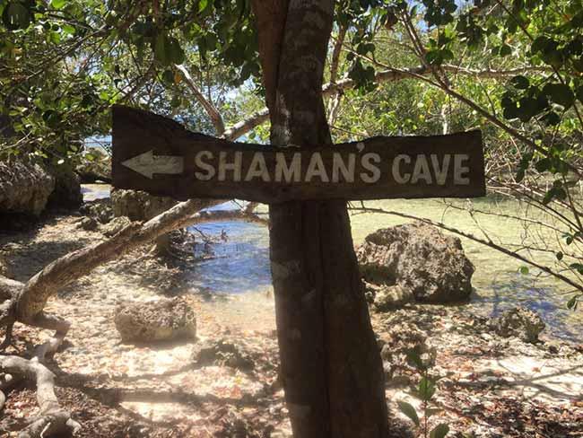 Lamanoc Island Anda Bohol Philippines Shaman's Cave