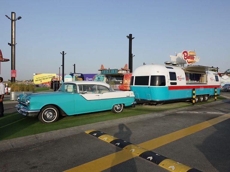 Last Exit Street Food Truck Park Dubai Abu Dhabi Burger Pit