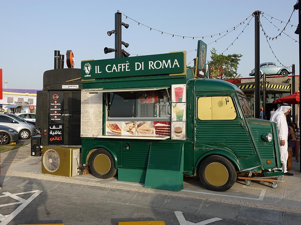 Last Exit Street Food Truck Park Dubai Abu Dhabi Caffe Di Roma