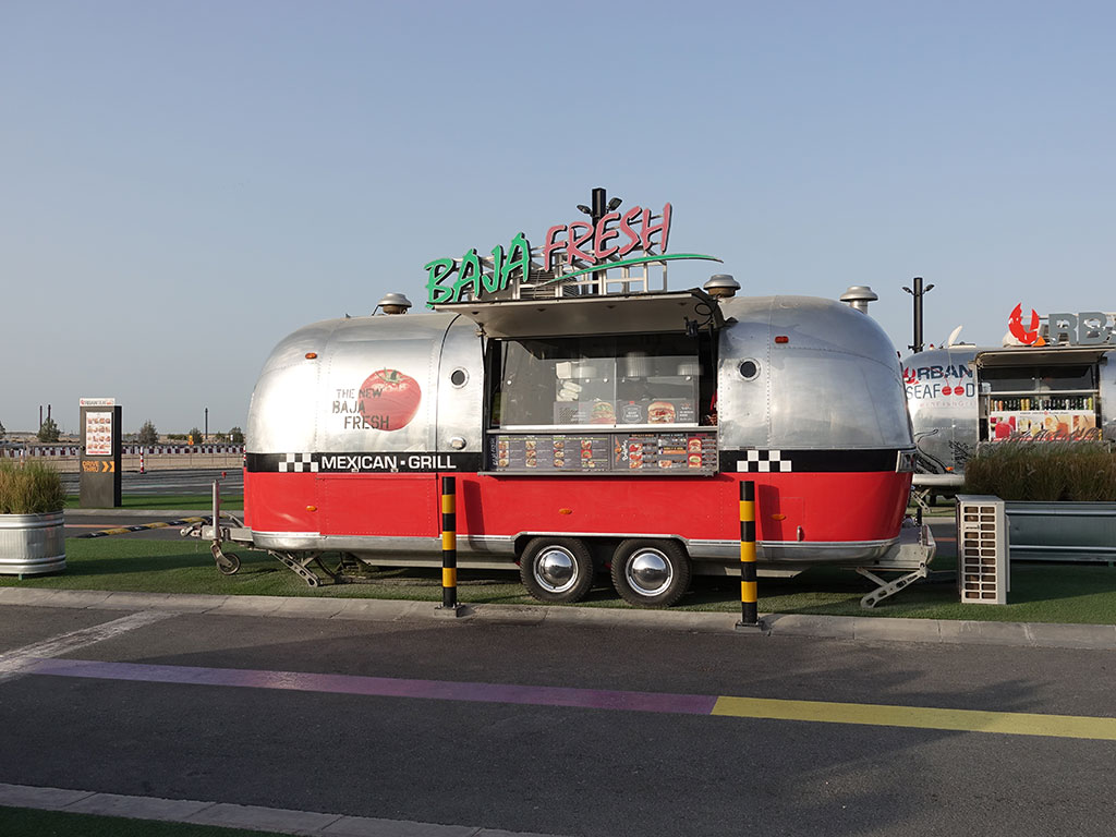 Last Exit Street Food Truck Park Dubai Abu Dhabi E11 Baja Fresh Mexican Grill