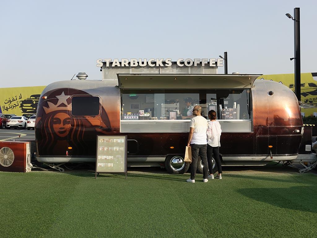 Last Exit Street Food Truck Park Dubai Abu Dhabi Starbucks Coffee