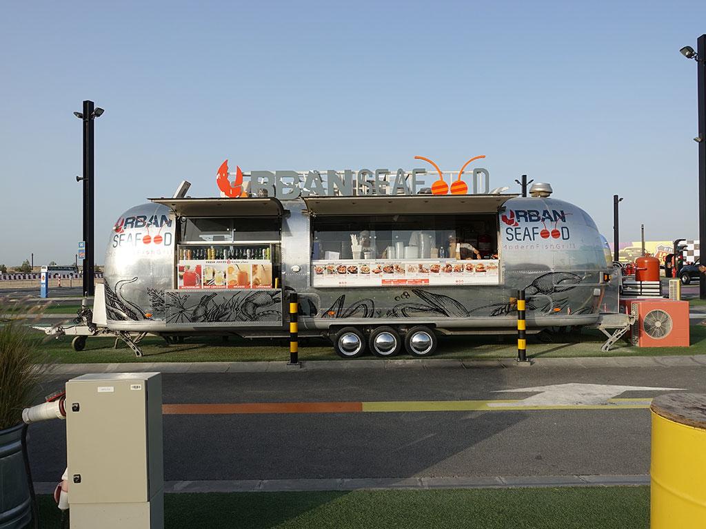 Last Exit Street Food Truck Park Urban Seafood Modern Fish Grill