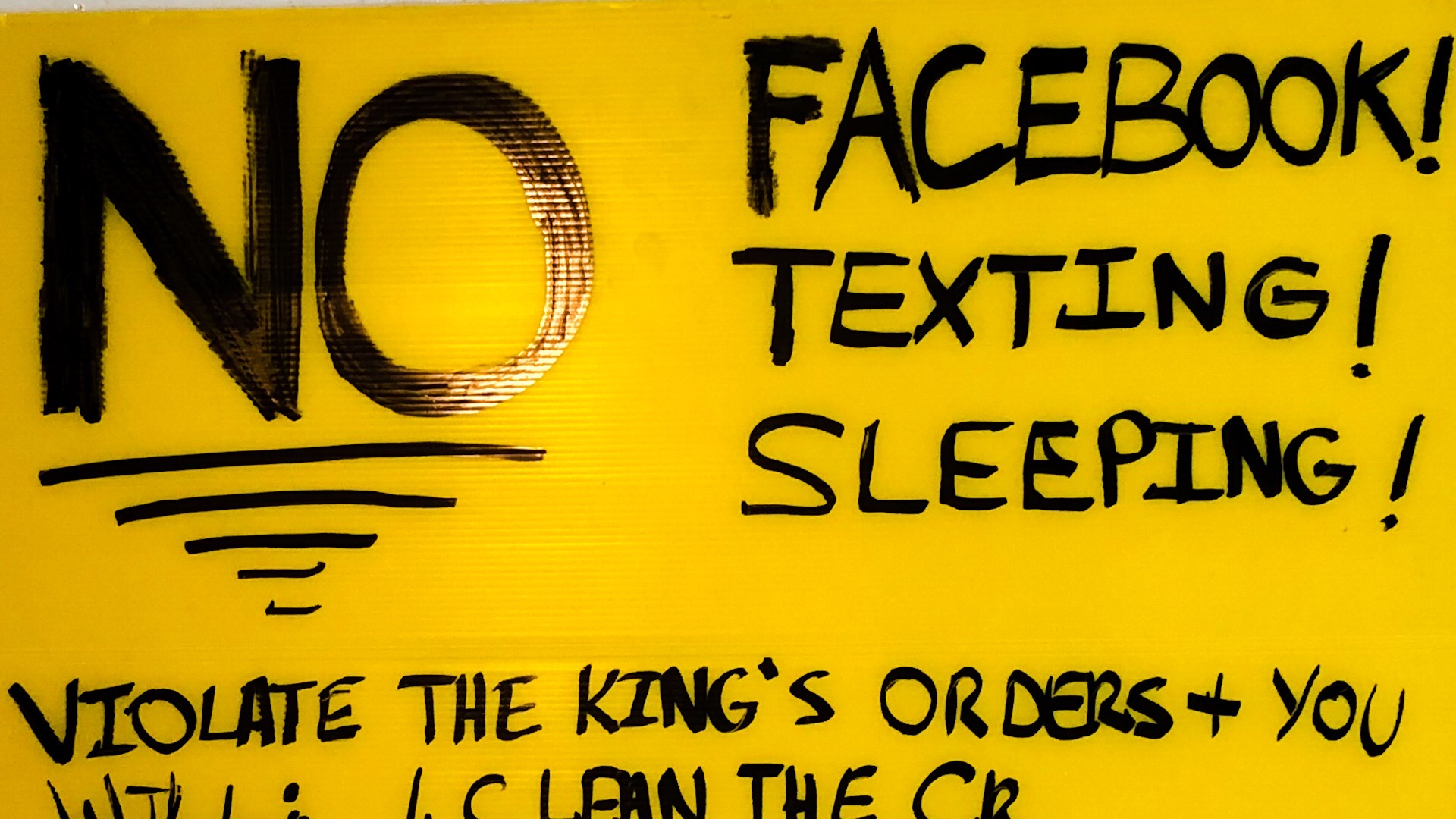 NO Facebook! NO Texting! NO Sleeping! - Had to Get Rid of the Zombies