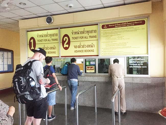 Nong Khai Train Station Thanaleng Laos Purchase Tickets