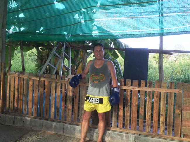 One-Hour Muay Thai Workout Plan for Expats in Thailand - Cool Down by Banana Tree