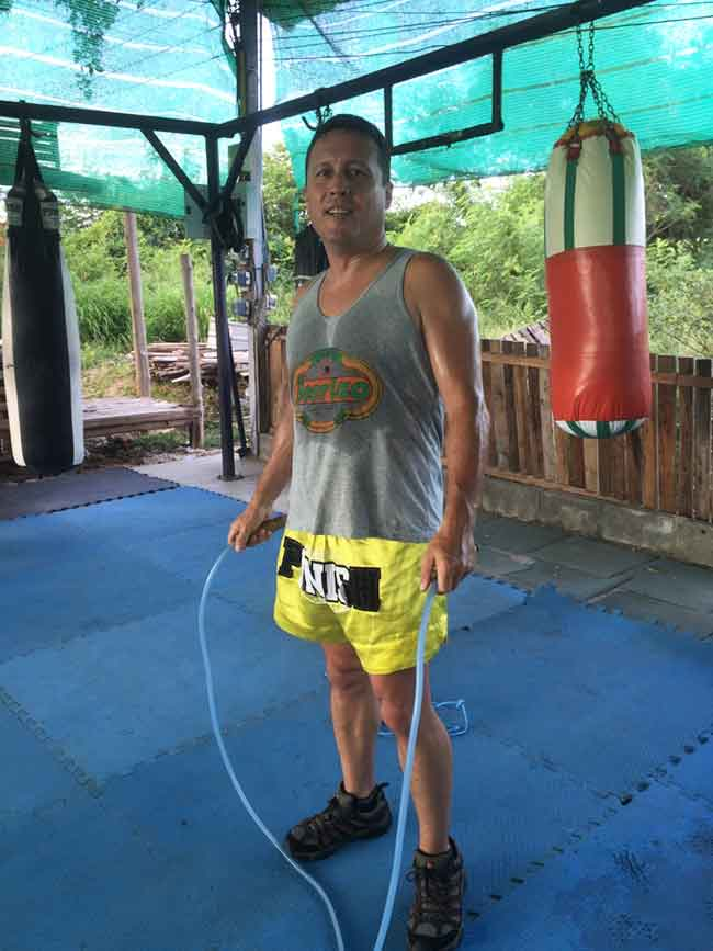 One-Hour Muay Thai Workout Plan for Expats in Thailand - Jump Rope