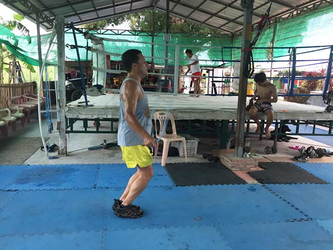 One-Hour Muay Thai Workout Plan for Expats in Thailand - Jumping Rope