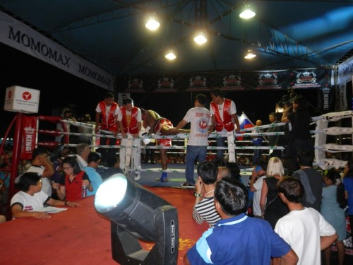 Riddick Bowe Muay Thai Super Fight - Pattaya Thailand 2013
