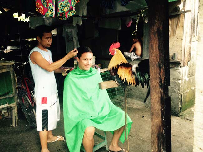 Rooster Barber Shop - Philippines Adventures