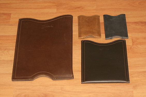 Saddleback Leather - Chestnut - Tobacco Brown - Carbon Black - Dark Coffee Brown