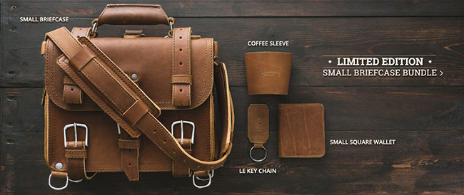 Saddleback Leather Small Briefcase Limited Edition