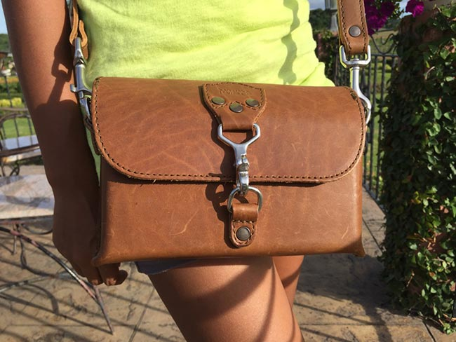 Saddleback Leather Clutch Purse Medium Tobacco Review Women Ladies Outdoors Travel
