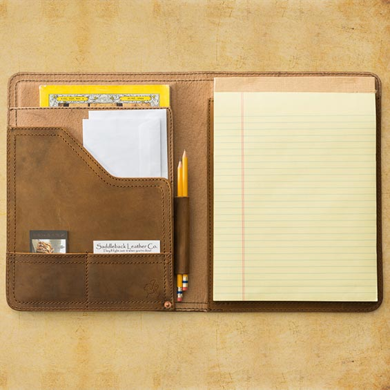 Saddleback Leather Notepad Holder