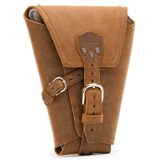 Saddleback Leather Pistol Wrap Tobacco Brown