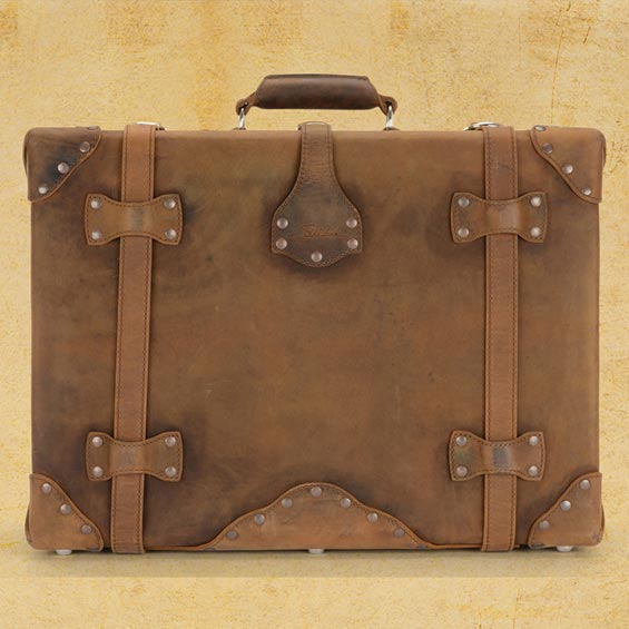 Saddleback Leather Suitcase - Best Luggage for the World Traveler