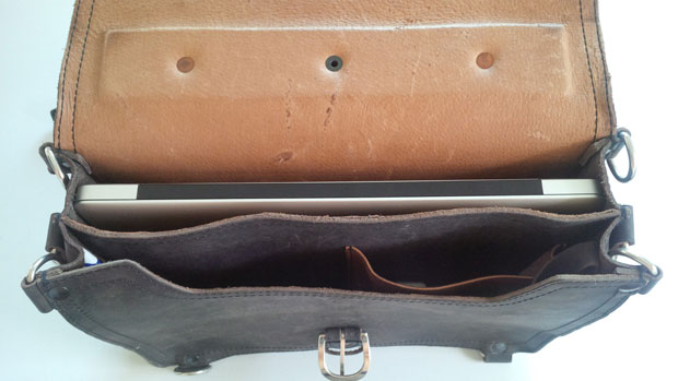 Saddleback Leather Thin Briefcase 15 Inch MacBook Pro