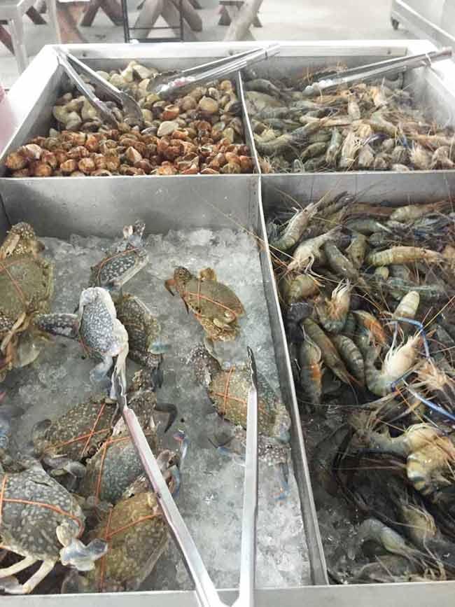 Seafood Buffet Near Suvarnabhumi Airport Bangkok Thailand
