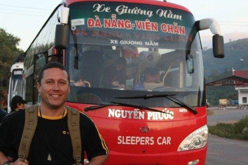 Hoas Place - Christmas in Da Nang Vietnam - 2010 - Sleeper Bus From Hell