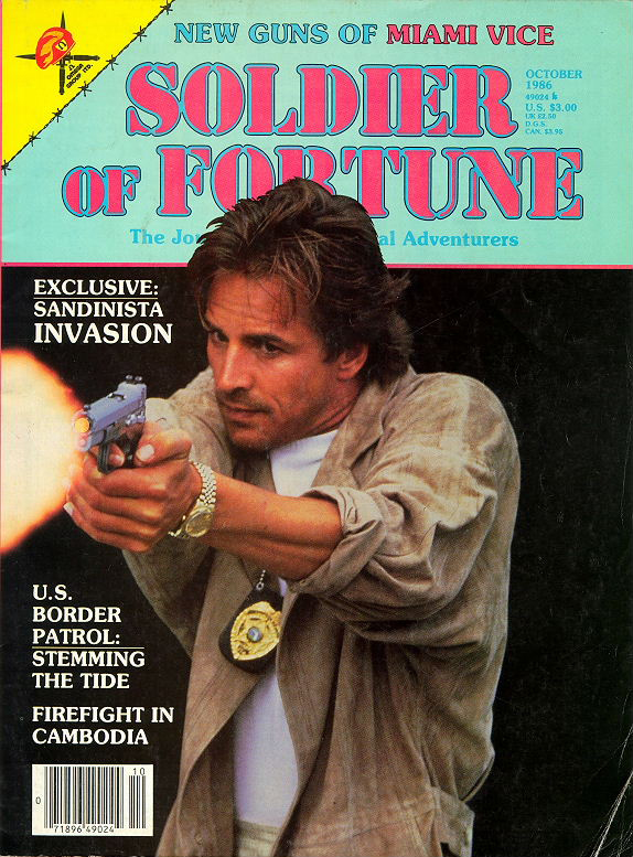 Soldier of Fortune - October 1986
