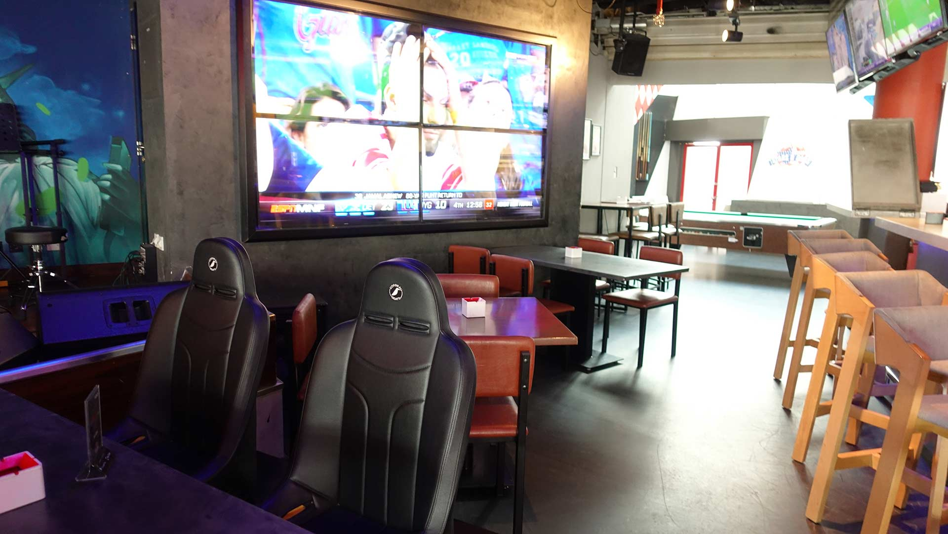 Stars N Bars - Abu Dhabi, UAE - Big Screen TV