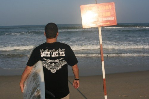 Hoas Place - Christmas in Da Nang Vietnam - 2010 - Surfing China Beach