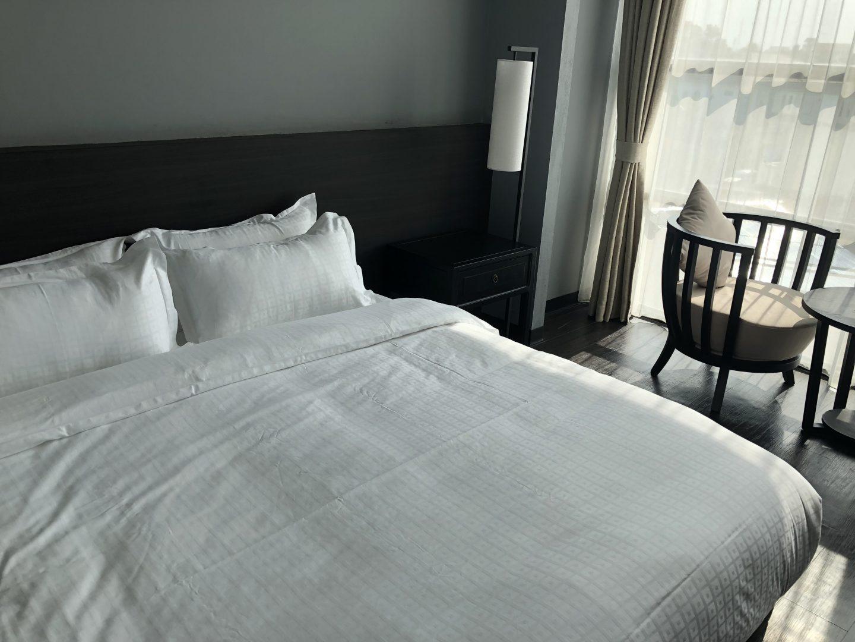 Tera Hotel Vientiane Laos Bedroom View