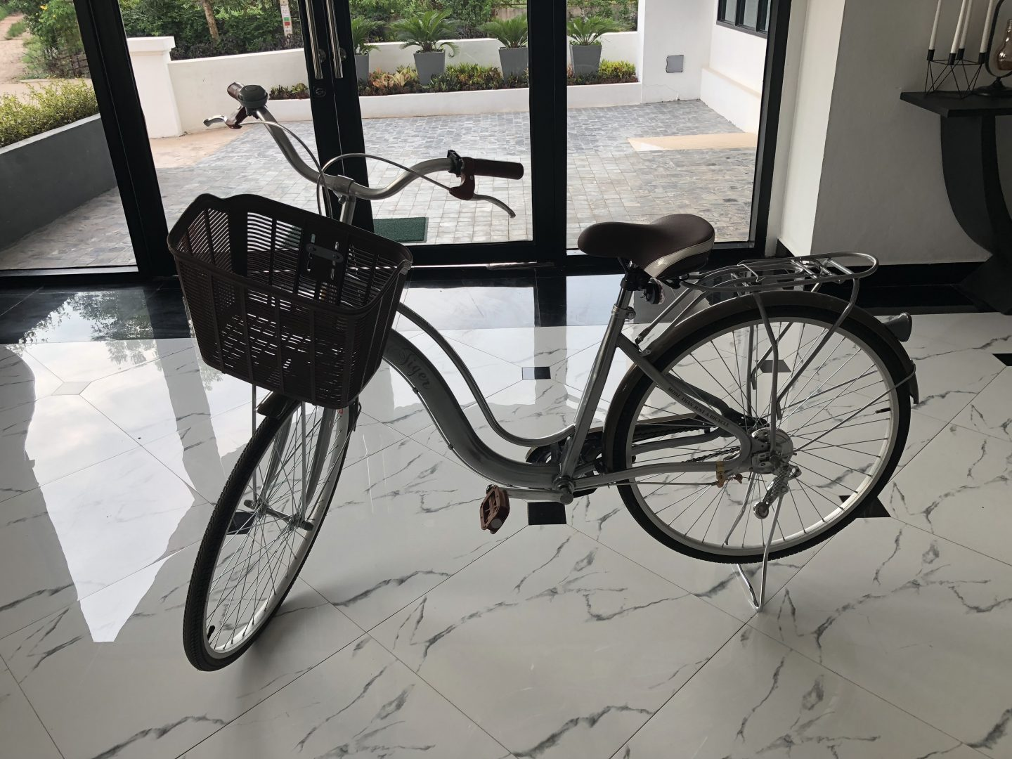 Tera Hotel Vientiane Laos Free Bicycle Rental